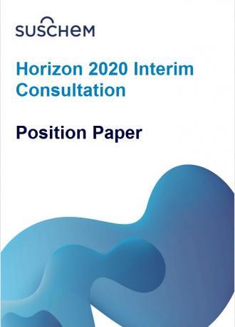 Horizon 2020 Interim Consultation - SusChem Position Paper